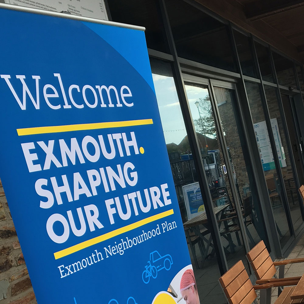 We helped promote the Exmouth Neighbourhood Plan consultation via a social media campaign