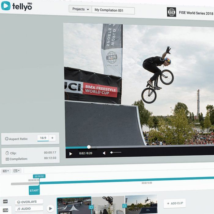 Tellyo – cloud video production and distribution