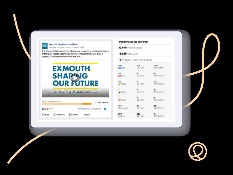 Social media campaign around the Exmouth Neighbourhood Plan