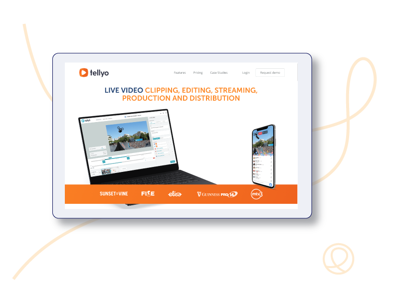 Our work with Tellyo, delivering a range of digital marketing content