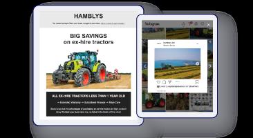 Inbound marketing for Hamblys